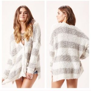 Free People Marshmallow Sweater Cardigan